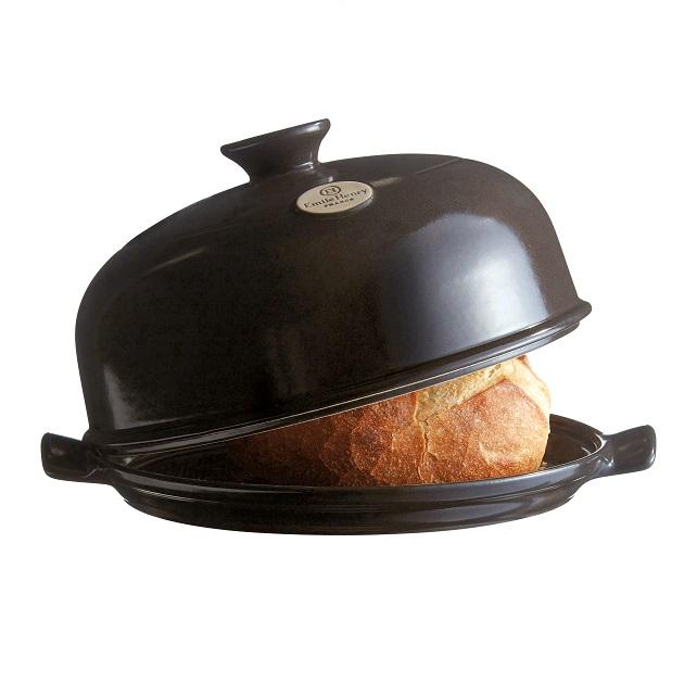 Forma na pečení chleba antracitová Charcoal E-balení - Emile Henry