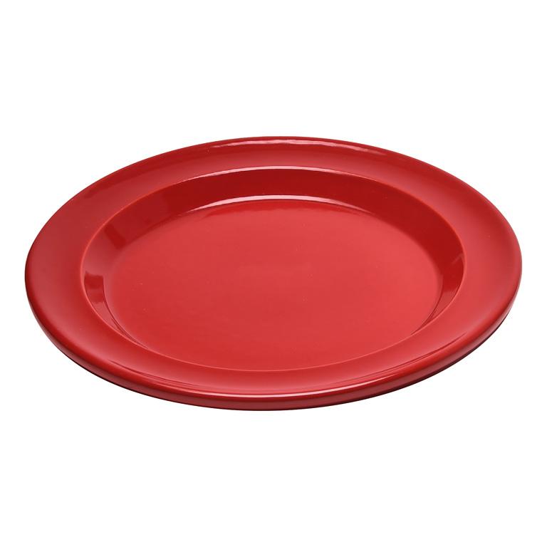 Talíř jídelní 28 cm červený Burgundy - Emile Henry