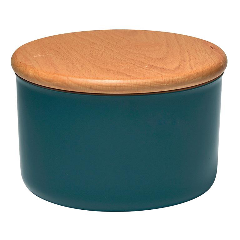 Dóza na potraviny s víkem 15 cm modrá Blue Flame - Emile Henry