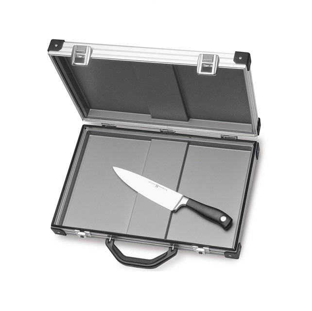 Kuchařský kufr 45 x 30 cm hliníkové pouzdro -  Wüsthof Dreizack Solingen