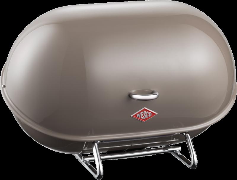 Chlebník Single Breadboy 34 x 21 x 23 cm, tmavě šedý - Wesco