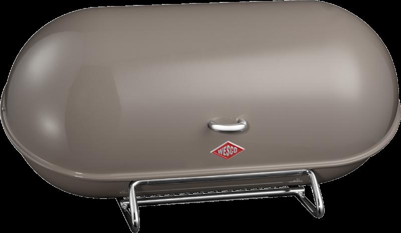 Chlebník Breadboy 44,3 x 21 x 23 cm, tmavě šedý - Wesco
