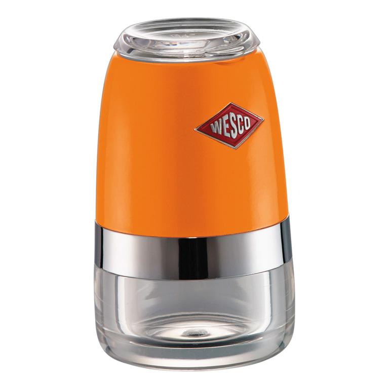 Mlýnek na sůl/pepř, oranžový - Wesco
