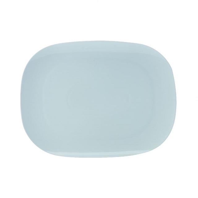 Jídelní talíř 37,5 x 28 cm, WHITE BASIC BISOU - Maxwell&Williams