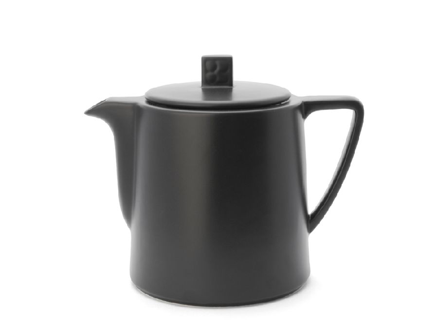 Konvička na čaj 1l, černá, Lund - Bredemeijer