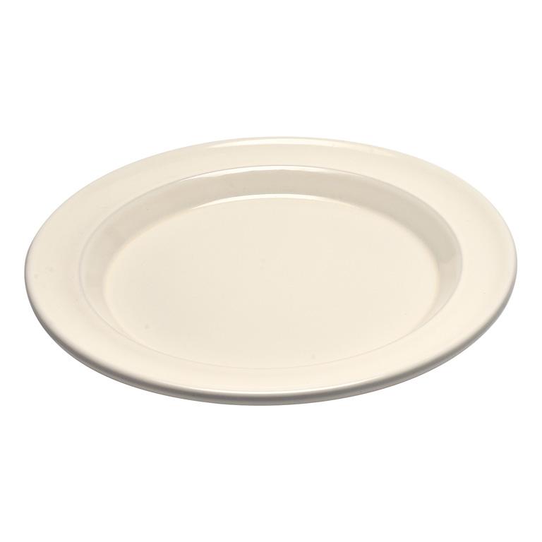 Talíř jídelní 28 cm krémový Clay - Emile Henry