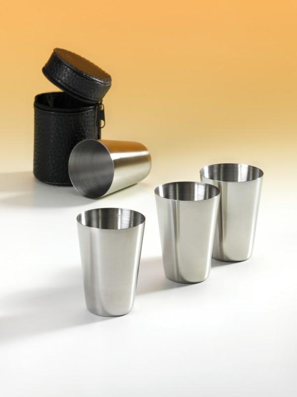Pohárky pro kapesní lahev 4 ks