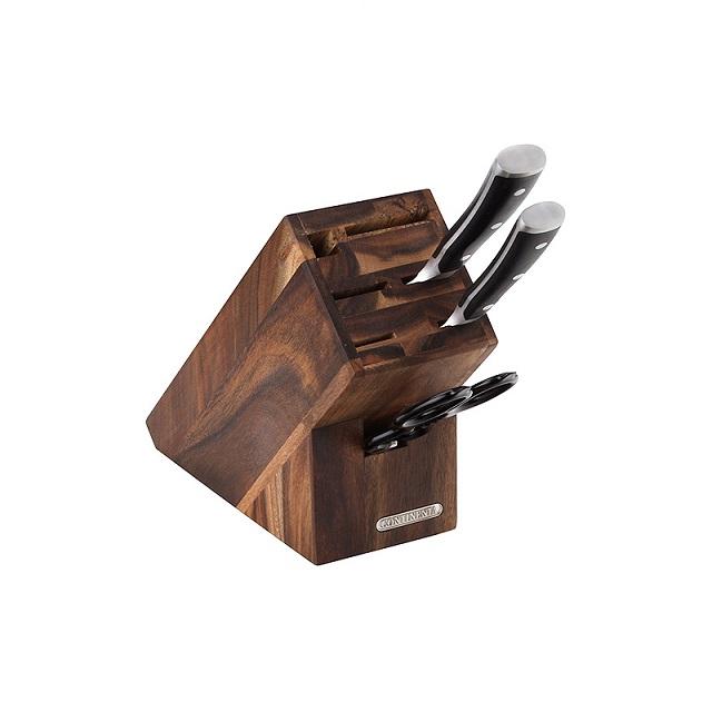 Blok na nože, na 7ks, akácie - Continenta