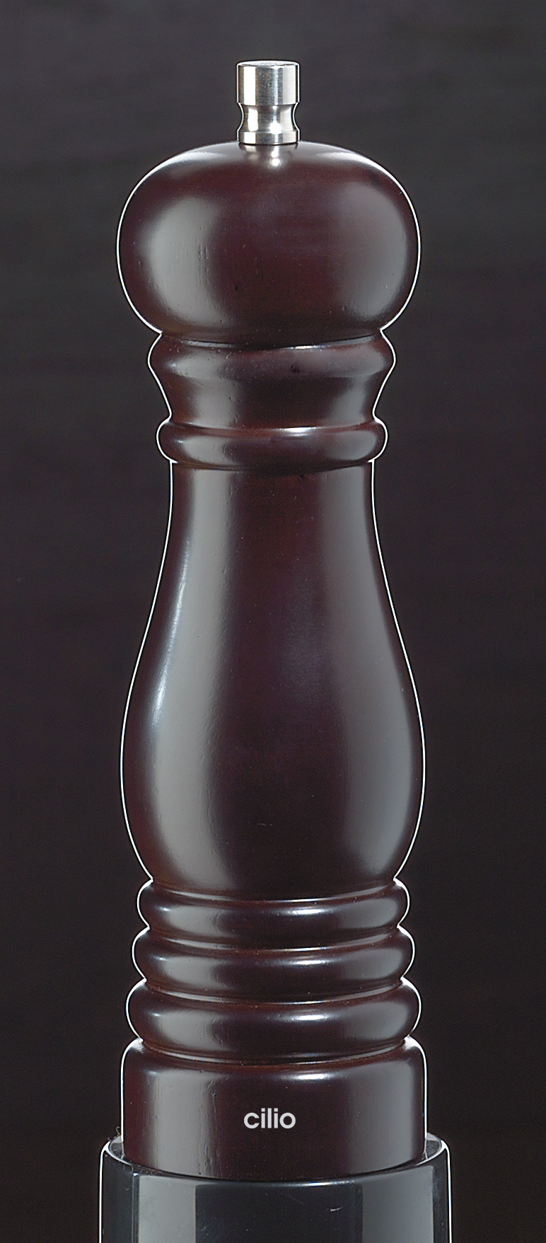 Mlýnek na sůl ROMA marone hnědý 18 cm - Cilio