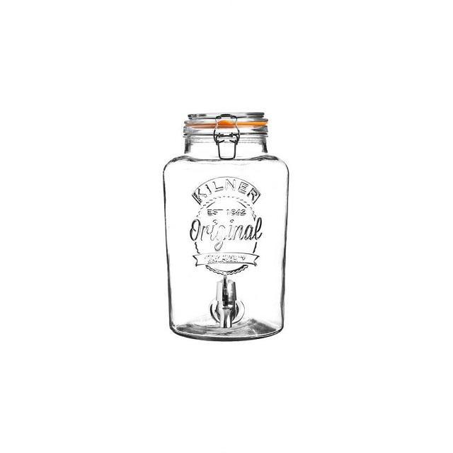Skleněný nápojový automat s kohoutkem 5 l - Kilner