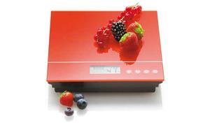Elektronická kuchyňská váha červená - Carlo Giannini