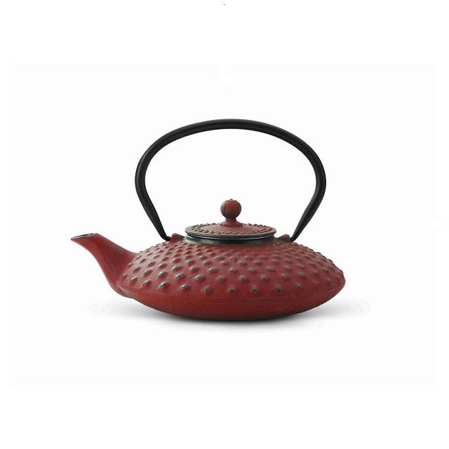Konvička na čaj 0,8l, červená, Xilin - Bredemeijer
