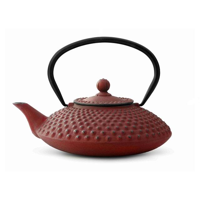 Konvička na čaj 1,25l, červená, Xilin - Bredemeijer