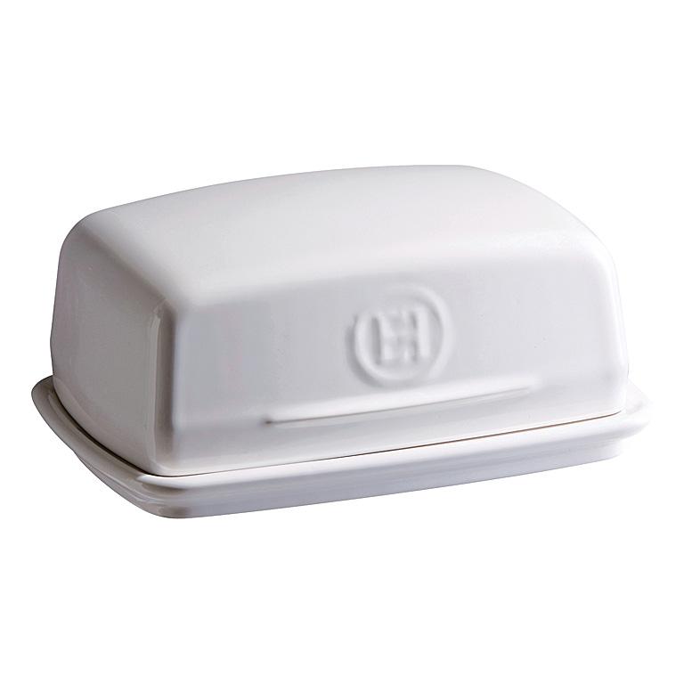 Dóza na máslo 16 x 11 cm bílá Flour - Emile Henry