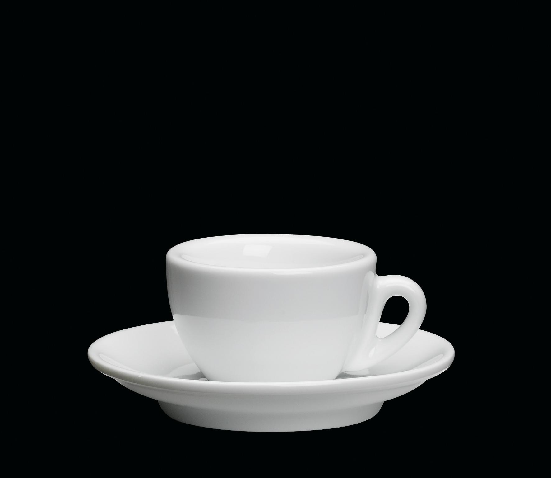 Porcelánový šálek na espresso ROMA bílý 50 ml - Cilio