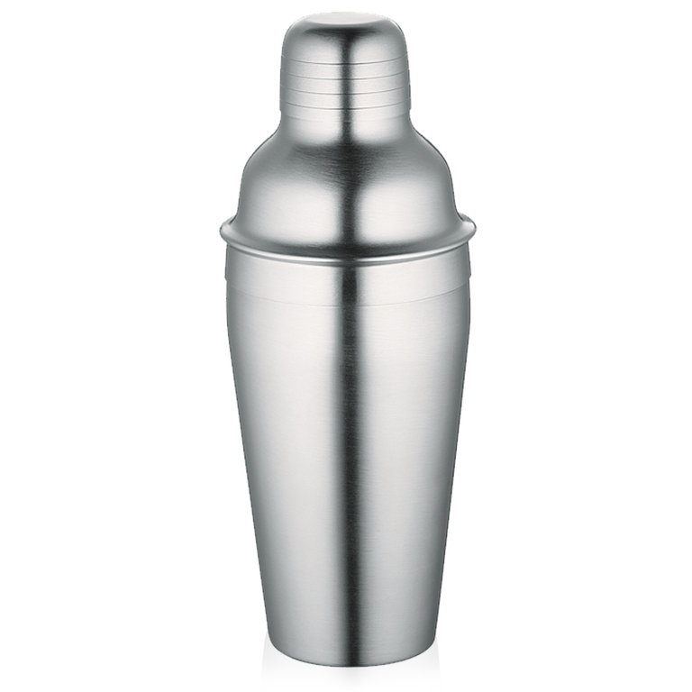 Shaker na koktejly 0,5 l, nerezový matný - Cilio