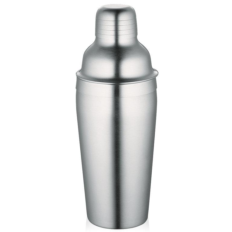 Shaker na koktejly 0,7 l, nerezový matný - Cilio