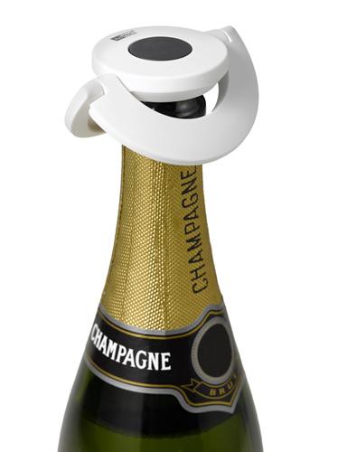 Zátka na šampaňské, bílá, GUSTO - AdHoc