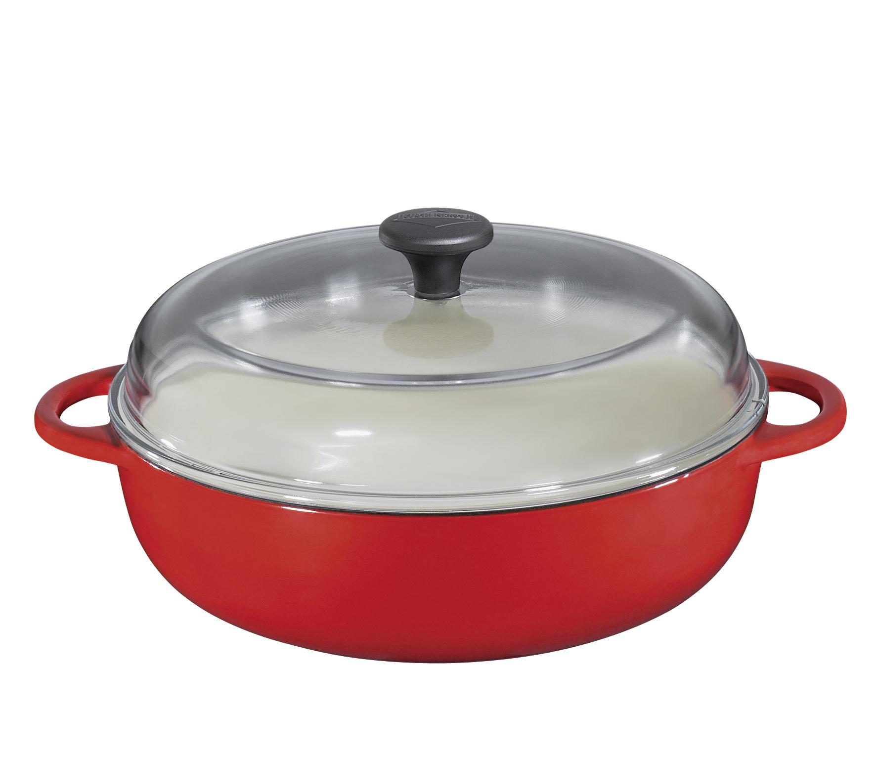Farmářská pánev 24 cm červená Provence - Küchenprofi