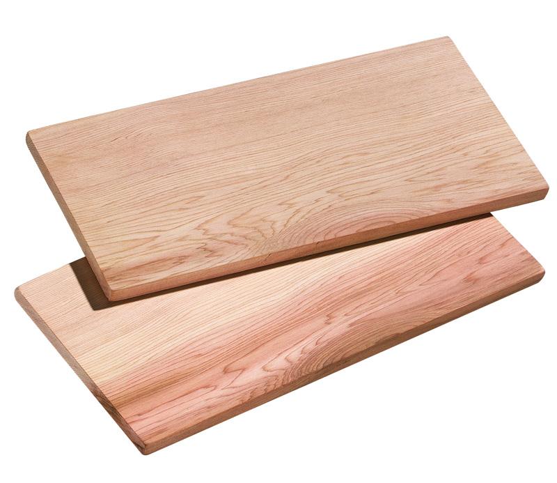 Set prkének z cedrového dřeva 30 x 15 cm SMOKY - Küchenprofi
