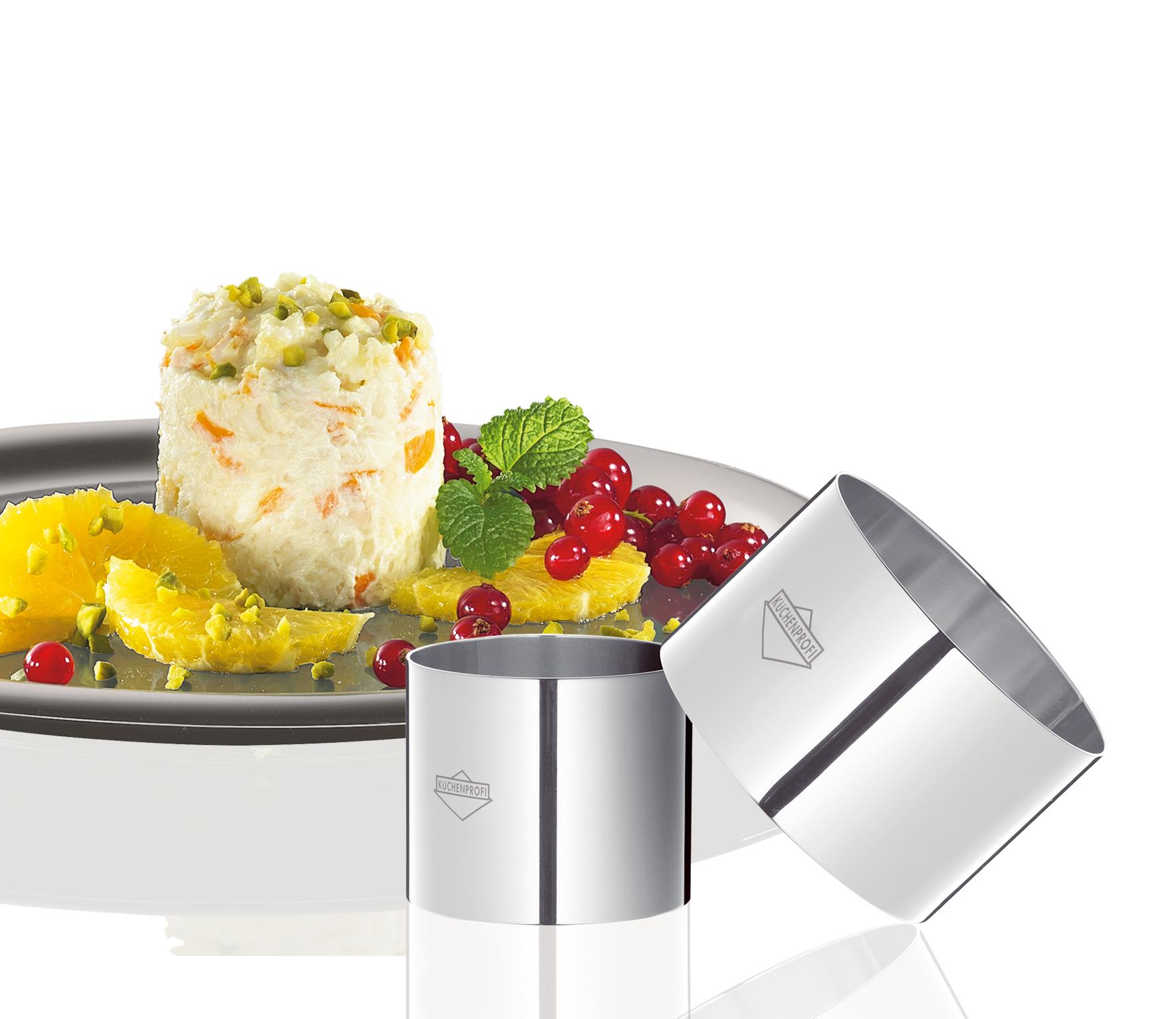 Formičky na dezerty/předkrmy set 4 ks - Küchenprofi