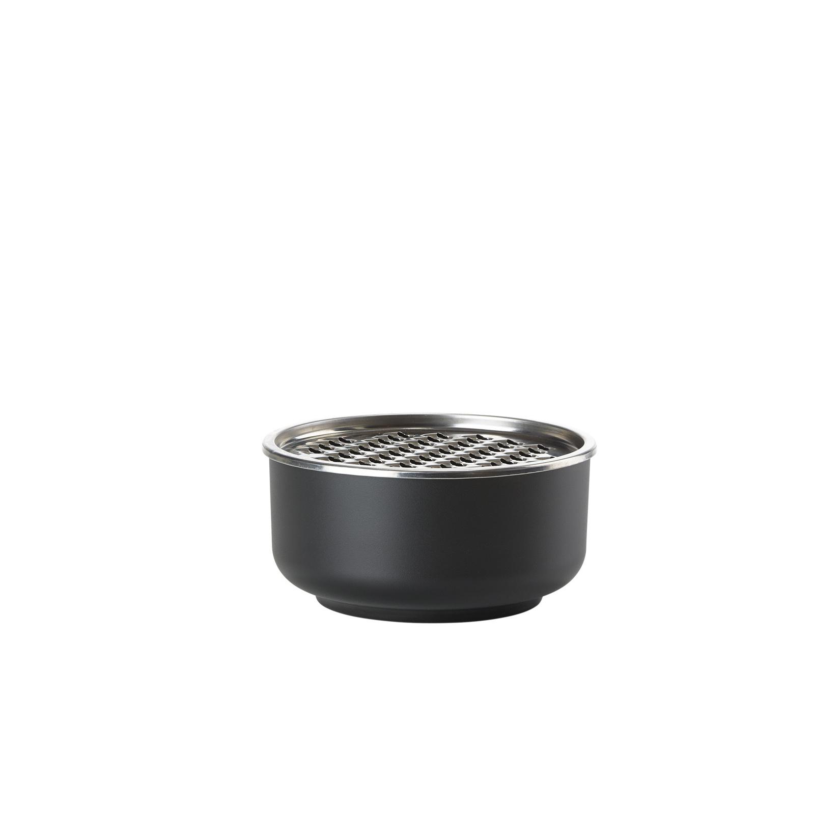 Servírovací mísa se struhadlem 1 l, černá, Peili - Zone Denmark