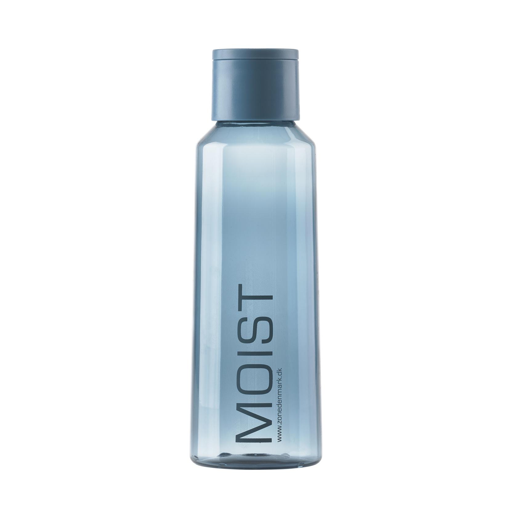Láhev na vodu 0,5 l, Steel Blue, Moist - Zone Denmark