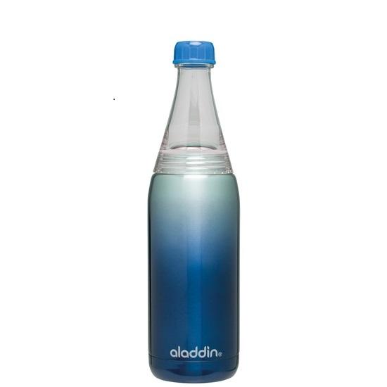 Fresco láhev na vodu 600ml, modrá, Twist&Go - Aladdin