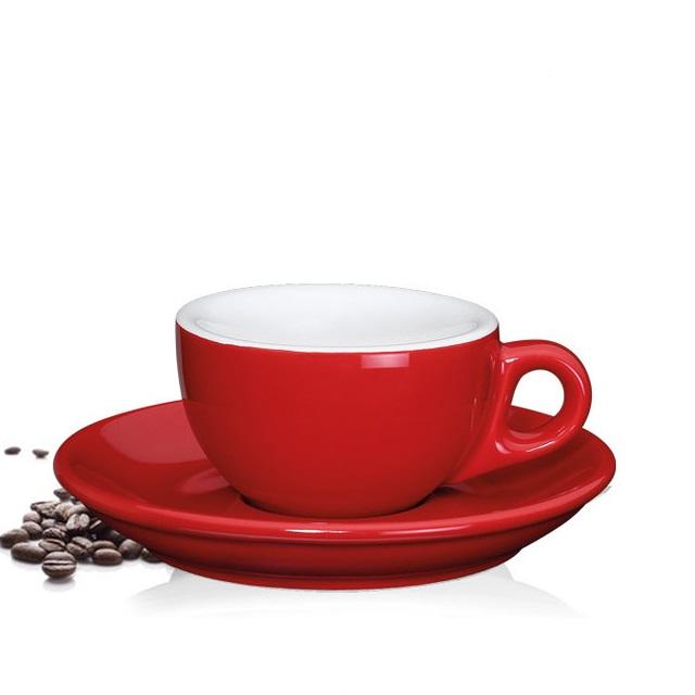 Šálek na espresso 50 ml, červený, ROMA - Cilio