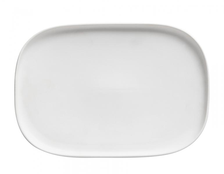 Obdélníkový talíř 26,5 x 18 cm, bílý, Elemental - Maxwell&Williams