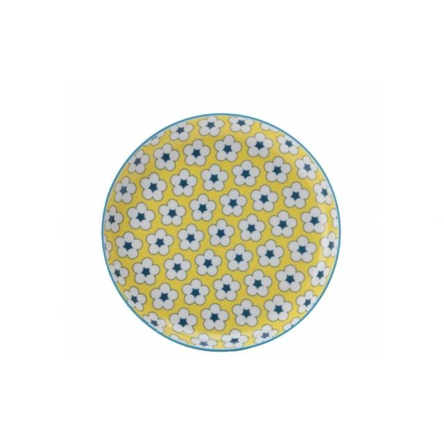 Dezertní talíř 18,5 cm žlutý, COTTON BUD - Maxwell&Williams