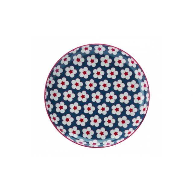Dezertní talíř 18,5 cm modrý, COTTON BUD - Maxwell&Williams