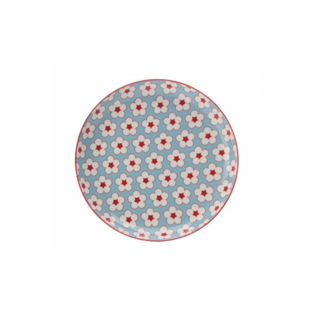 Dezertní talíř 18,5 cm sv. modrý, COTTON BUD - Maxwell&Williams
