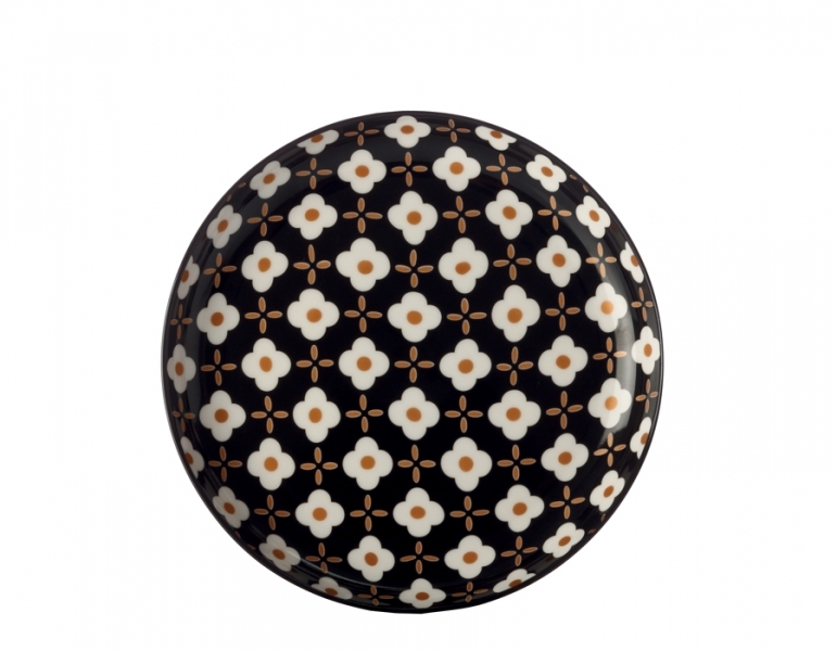 Mělký talíř 18,5 cm, White Flower, Marigold - Maxwell&Williams