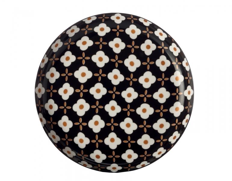 Mělký talíř 23 cm, White Flower, Marigold - Maxwell&Williams