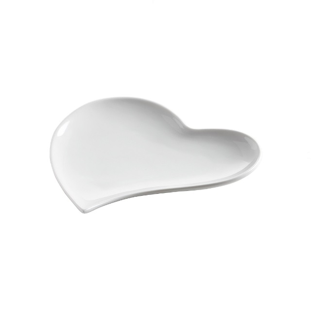 Srdcová miska 21 cm, WHITE BASICS - Maxwell&Williams