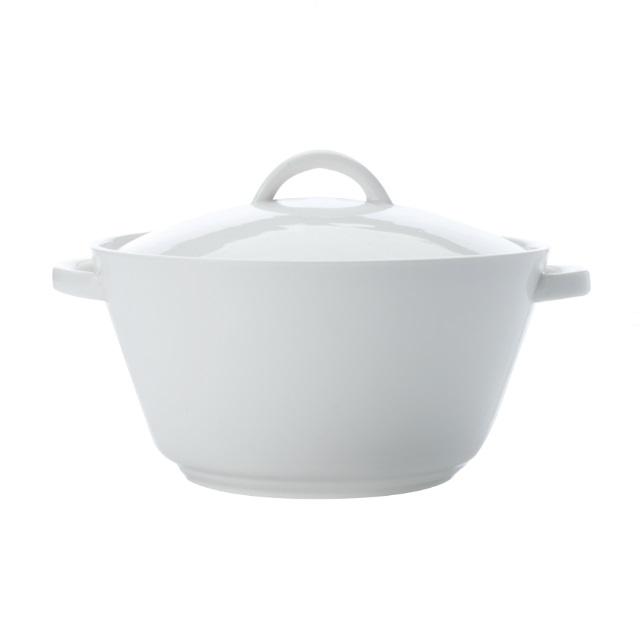 Hrnec na pečení kulatý 2,7 l, WHITE BASICS - Maxwell&Williams