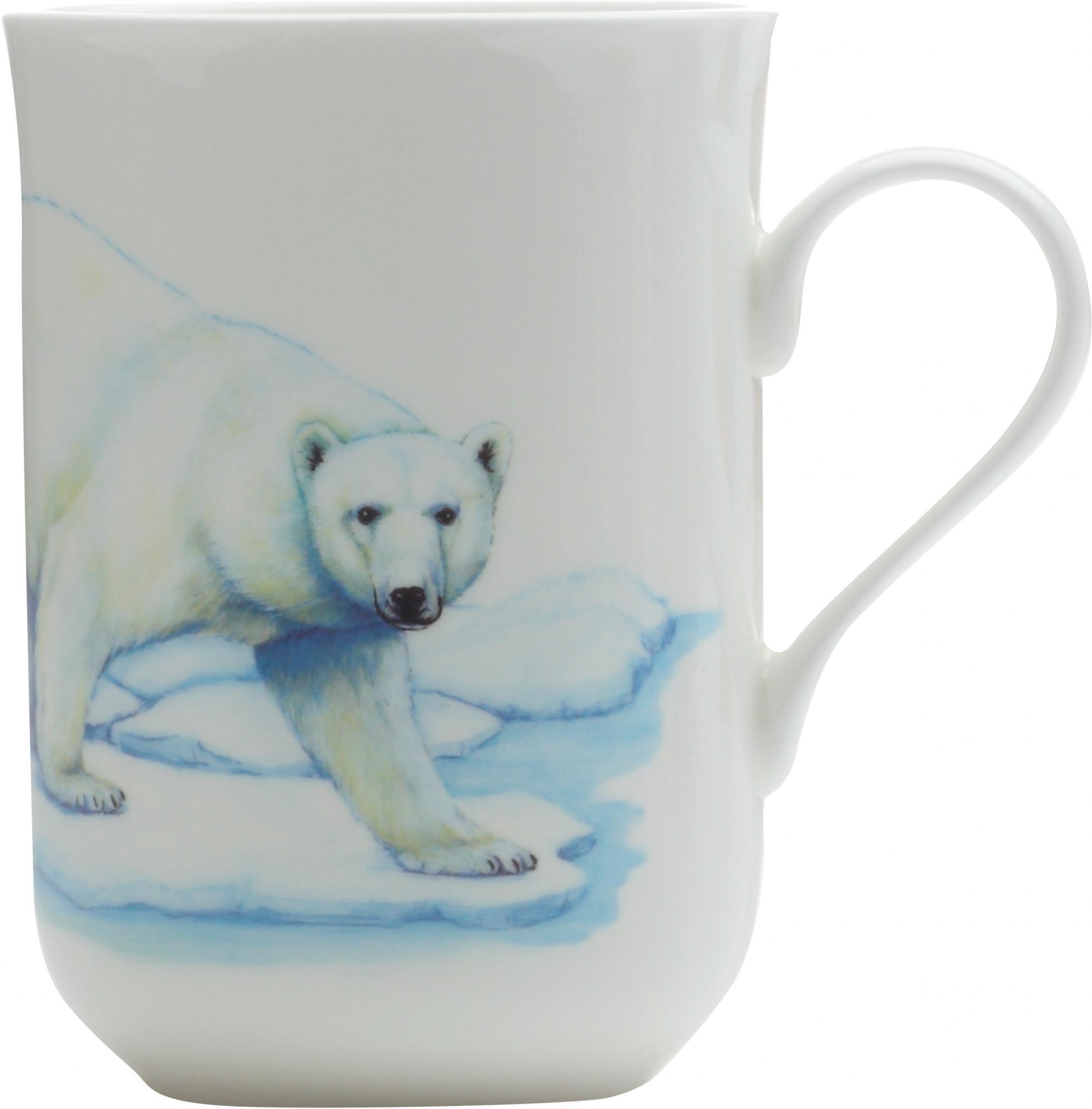 Hrnek 300 ml, Lední medvěd, Animals of the world - Maxwell&Williams