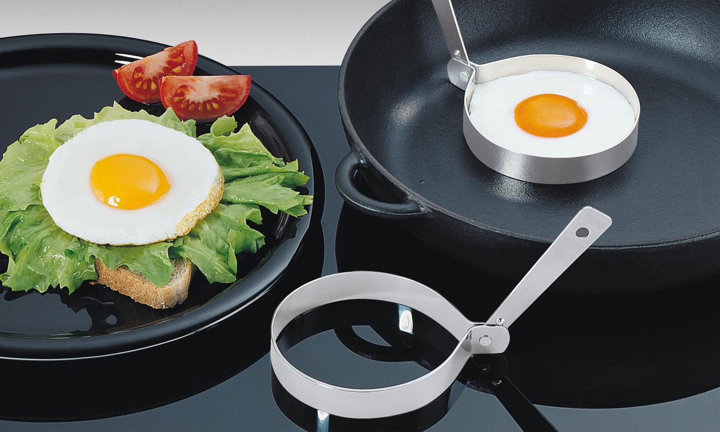 Sada dvou forem na vajíčka KRUH nerezová - Küchenprofi