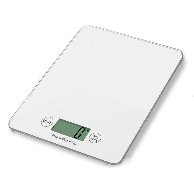 Digitální kuchyňská váha, bílá - Weis