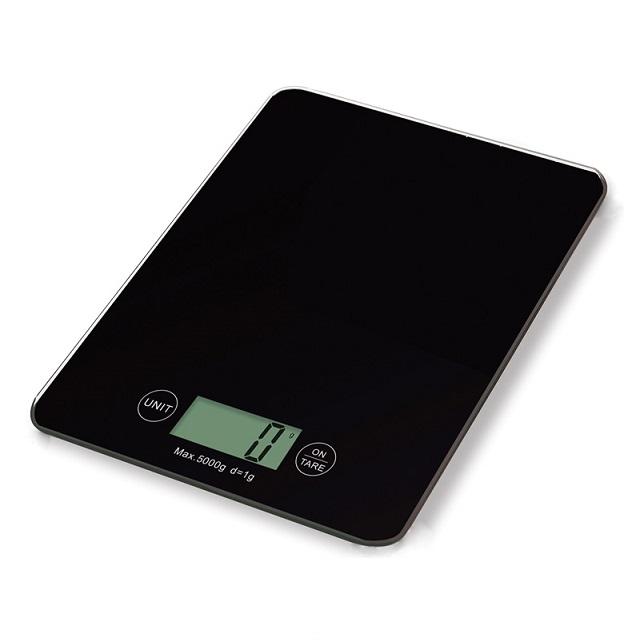 Digitální kuchyňská váha, černá - Weis