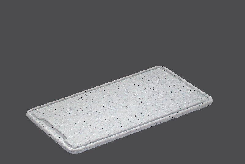 Granitové dranžírovací  prkénko 36 x 23 x 1,5 cm - Zassenhaus