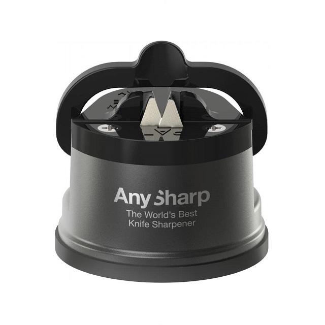 Brousek na nože, tmavě šedý, PRO - AnySharp