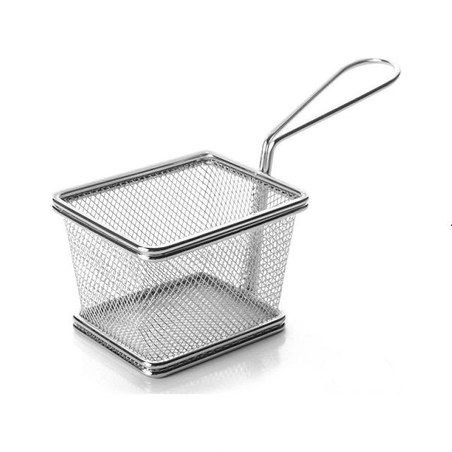 Servírovací košík na Finger Food, hranatý - Weis