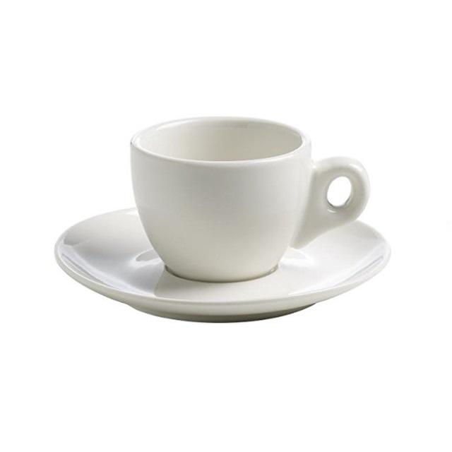 Šálek s podšálkem na espresso 60 ml, WHITE BASICS - Maxwell&Williams