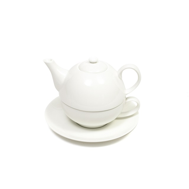 Čaj pro jednoho 0,4 l, WHITE BASICS - Maxwell&Williams