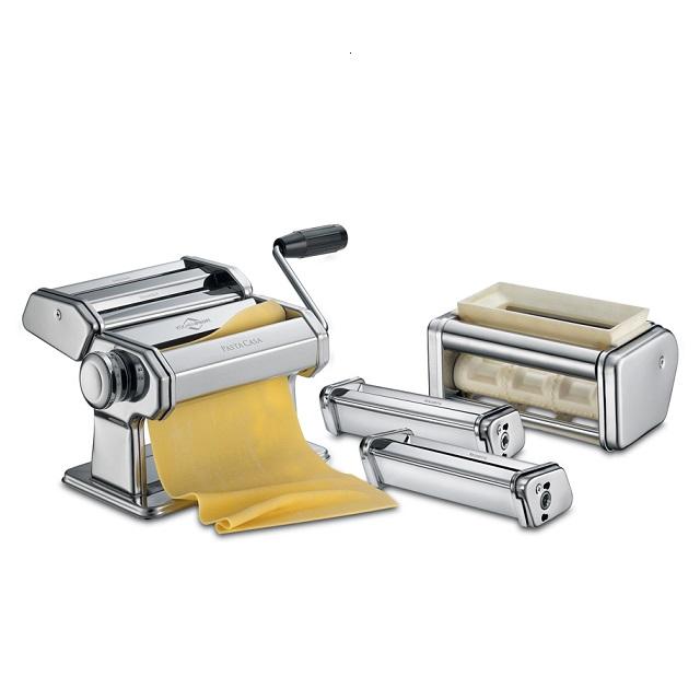 Set strojek na těstoviny stříbrný CLASSIC PASTACASA - Küchenprofi