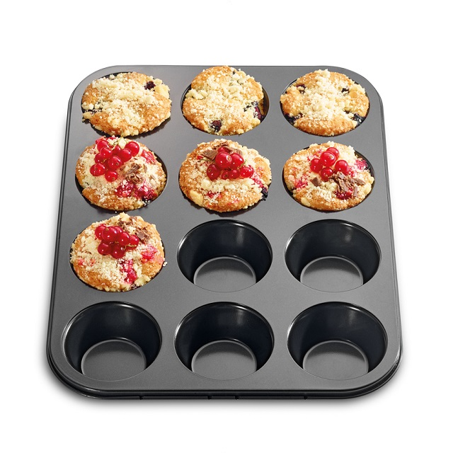 Plech na 12 muffinů BAKE ONE - Küchenprofi
