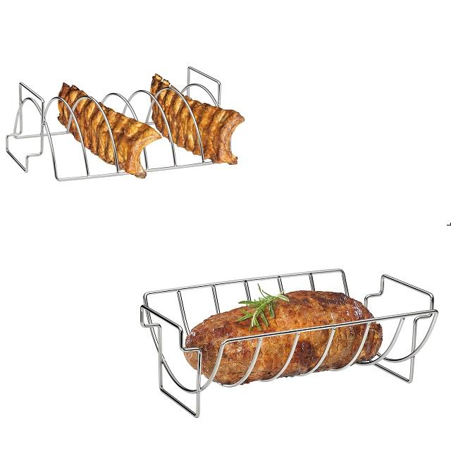 BBQ košík na žebírka a pečeni - Küchenprofi