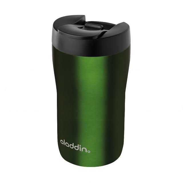 "Termohrnek ""Espresso"" 250 ml, zelený, Leak-Lock™ - Aladdin"